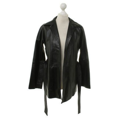 JOOP! Leather jacket in black
