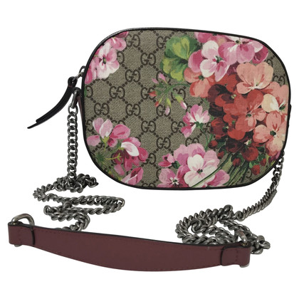 Gucci GG Blooms Supreme Canvas schouder tas