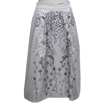 Matthew Williamson skirt with floral print
