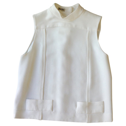 Miu Miu Sleeveless top