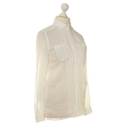 Hugo Boss Cotton blouse in white