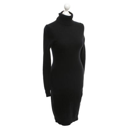 Ralph Lauren Gebreide jurk zwart