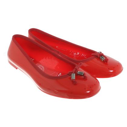 Hugo Boss Ballerina's in het rood