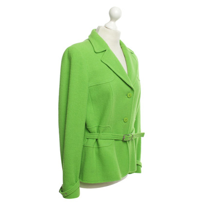 Escada green blazer
