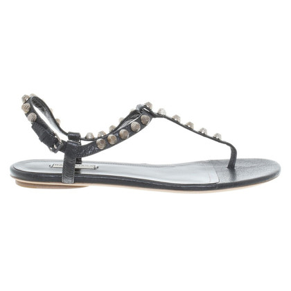 Balenciaga Sandals in anthracite