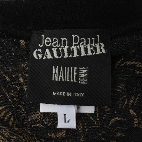 mit Gaultier Bunt Muster Paul Jean Weste Muster Jean Paul q6qOw7X