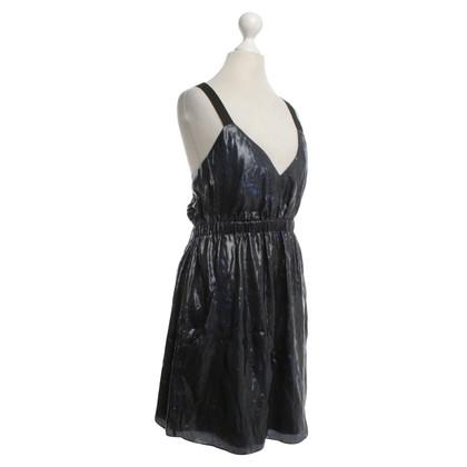 Theyskens' Theory Dress in metal look