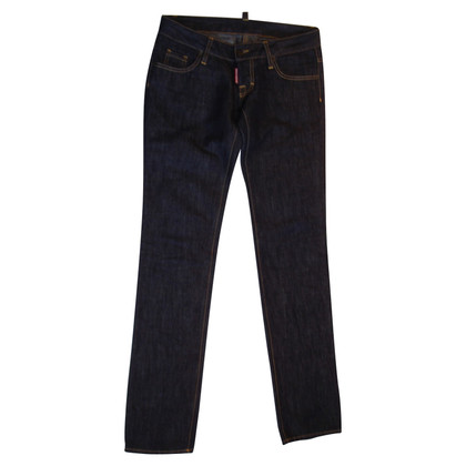 Dsquared2 Dark blue jeans