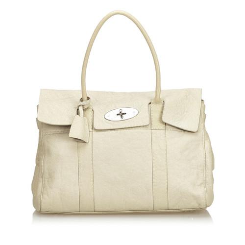 56de6fb03350 Mulberry Handbag Leather in Beige - Second Hand Mulberry Handbag ...