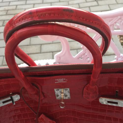 Hermès Birkin Bag 35 made of alligator leather - Second Hand Hermès ... 8725100917089