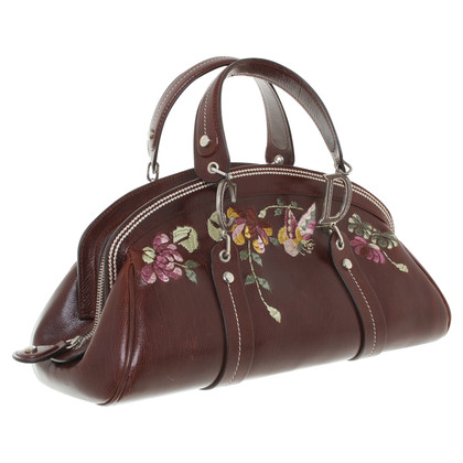 Christian Dior Handbag in reddish brown