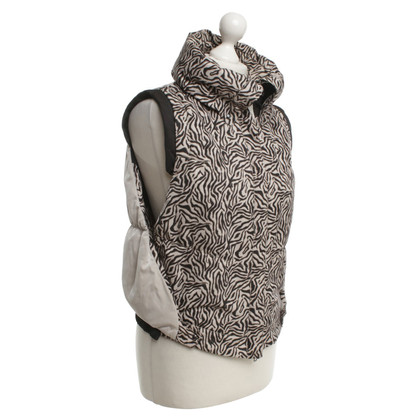 Marc Cain Down vest with pattern