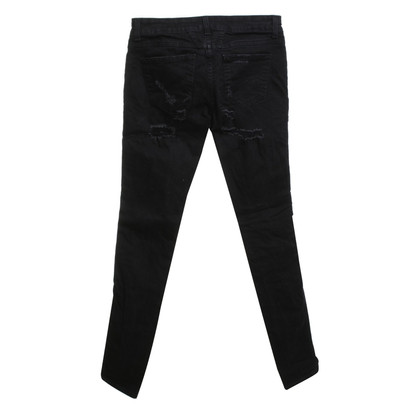 Closed Jeans im Used-Look in Schwarz