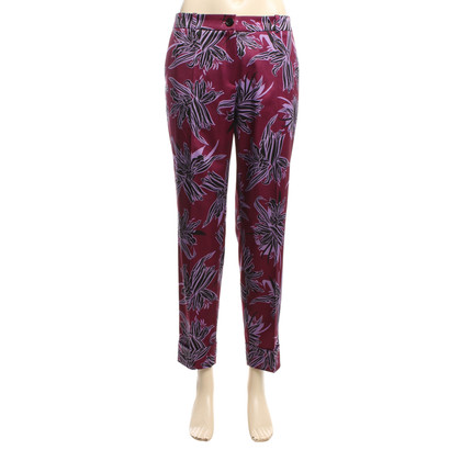 Hugo Boss Patterned trousers in Multicolor