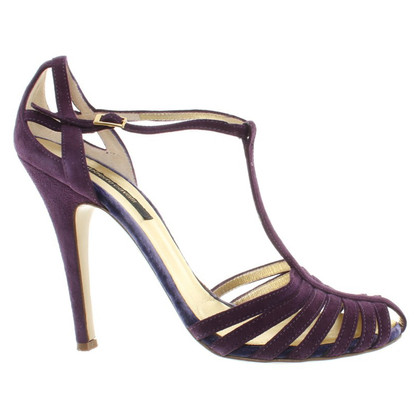 Roberto Cavalli pumps in violet