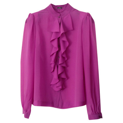 By Malene Birger Transparent blouse