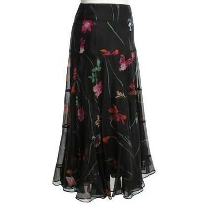 Kenzo Black skirt with print