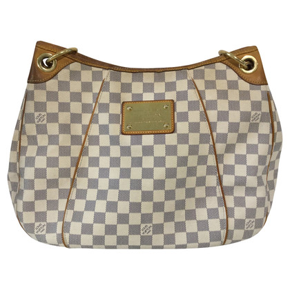 "Louis Vuitton ""Galliera Damier Azur Canvas"""