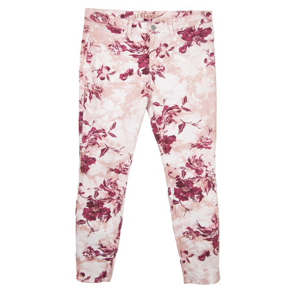 J Brand trousers with a floral pattern