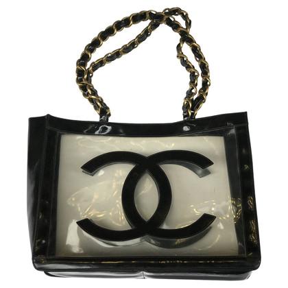 Chanel Maxi Tote aus Vinyl