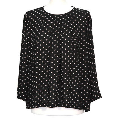 French Connection Gestippelde blouse