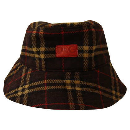 D&G Hat in wool / leather