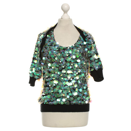 Sonia Rykiel Twin set with sequins