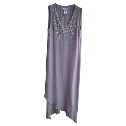Max Mara zijden jurk in Beige