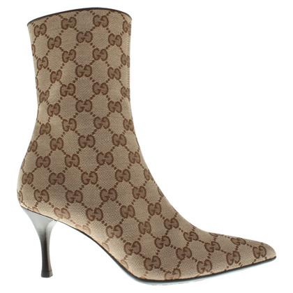 Gucci Stivali con modelli Guccissima
