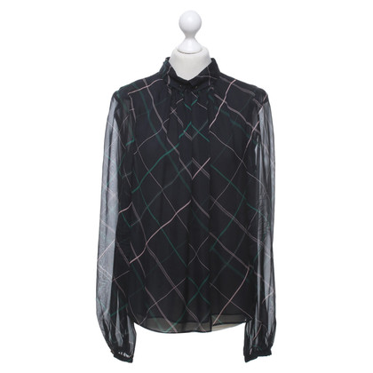 Tara Jarmon Silk blouse with pattern