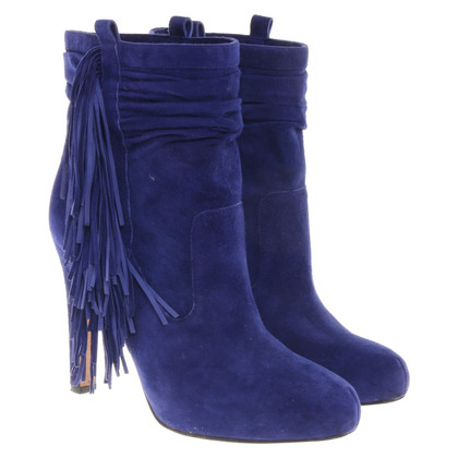 Jean-Michel Cazabat Boots in royal blue