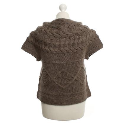 Set Cardigan in brown
