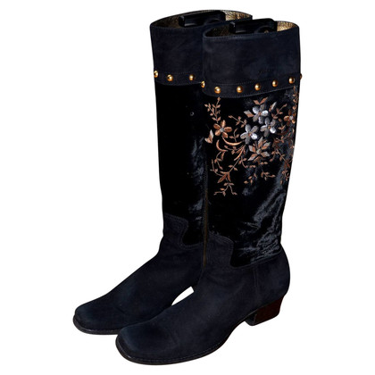 Miu Miu Embroidered boots