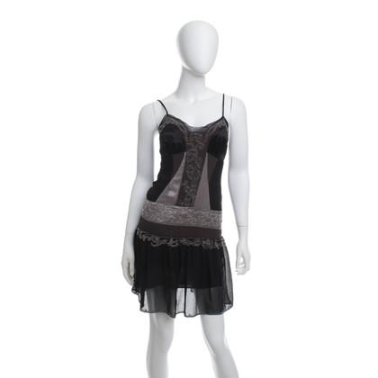 Karen Millen zijden jurk met kralen
