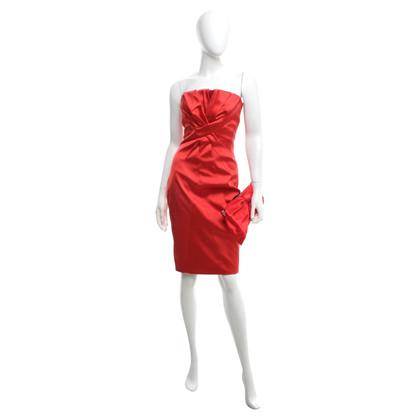 Karen Millen Dress & clutch in het rood