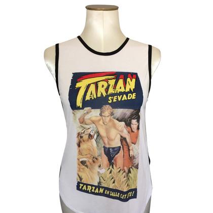 Claudie Pierlot Shirt Tarzan motief