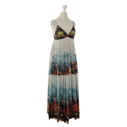 Jean Paul Gaultier Kleid mit buntem Print