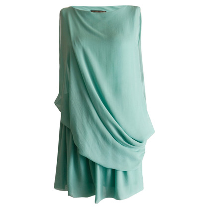 Plein Sud Asymmetrical silk dress