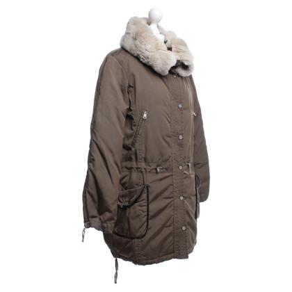 Max Mara Jacket with rabbit fur trim