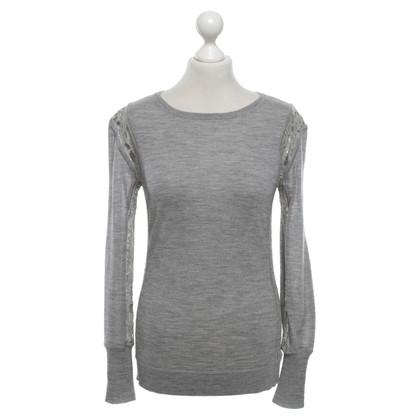 Diane von Furstenberg wool jumper in grey