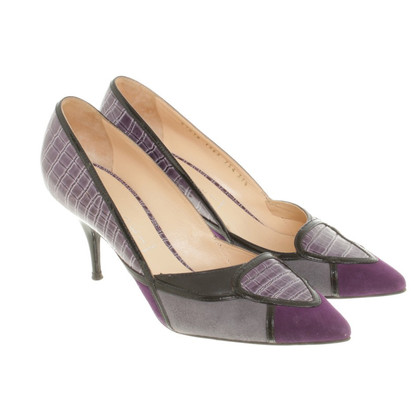 Casadei pumps in reptile look