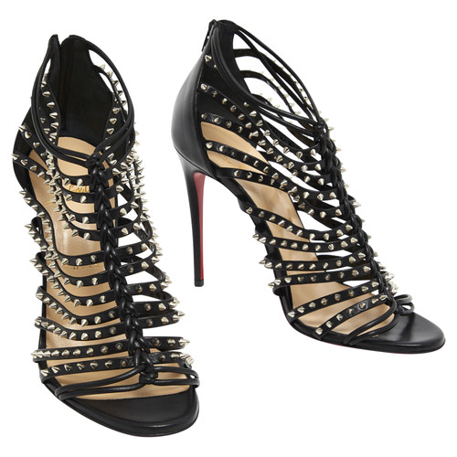 b8e4cfe1cea Christian Louboutin Sandals with studs - Second Hand Christian ...