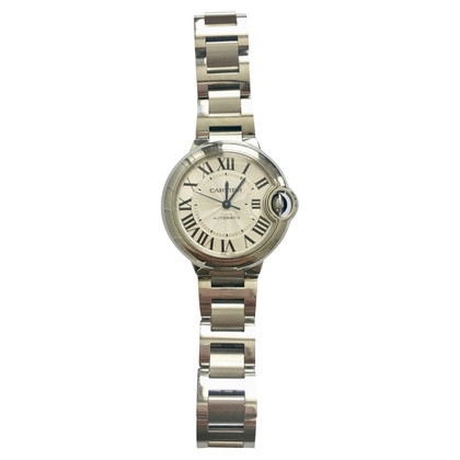 Cartier Ballon Bleu 33m watch steel