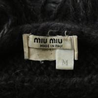 Miu Miu Schal-Kragen in Grau