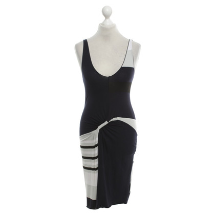 Armani Dress with stripe pattern