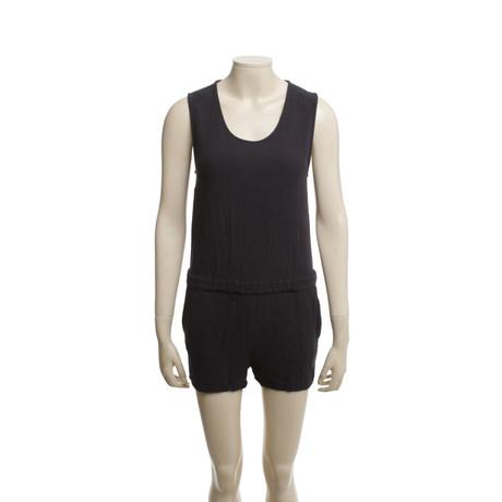 American Vintage Jumpsuit in Dunkelgrau Grau