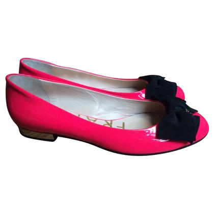 Elisabetta Franchi Ballerinas in Pink