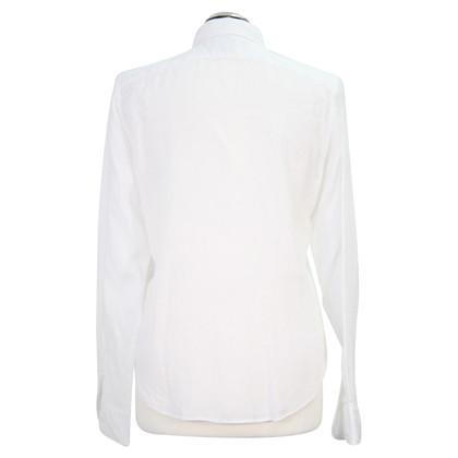 Ralph Lauren Linnen blouse in het wit