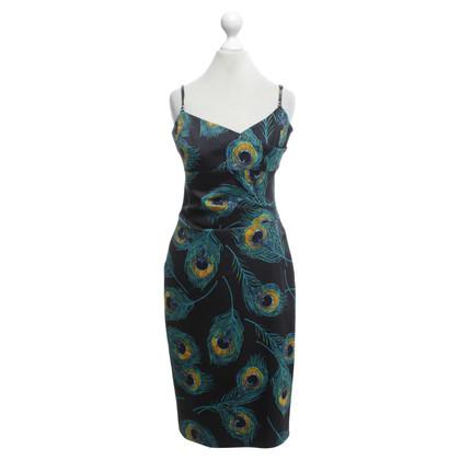 Karen Millen Kleid mit Pfauen-Motiv