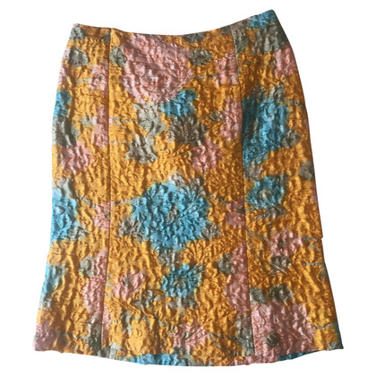 Miu Miu silk skirt